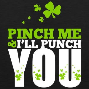 St. Patrick's Day: Pich me i will punch you Tank Tops - Men's Premium Tank Top