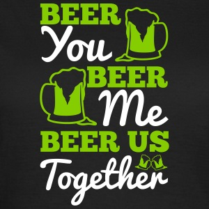 St. Patrick's Day: BEER YOU BEER ME BEER... Magliette - Maglietta da donna