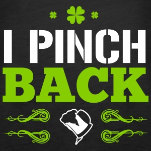 St. Patrick's Day: I PINCH BACK Tops - Frauen Premium Tank Top