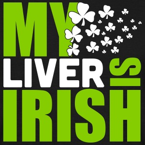 St. Patrick'S Day: MY LIVER IS IRISH T-Shirts - Men's T-Shirt