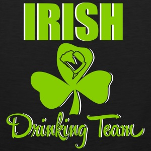 St. Patrick's Day: irish drinking team Tank Tops - Men's Premium Tank Top