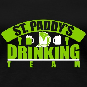 St.paddy drinking team T-Shirts - Frauen Premium T-Shirt