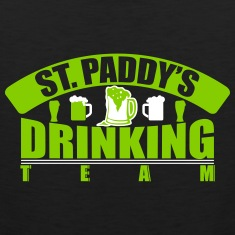 St.paddy's drinking team Tank Tops