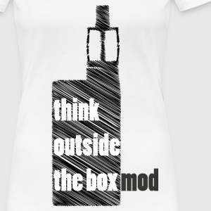 Think Outside the box Camisetas - Camiseta premium mujer