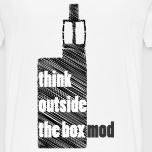 Think Outside the box T-shirts - Herre premium T-shirt