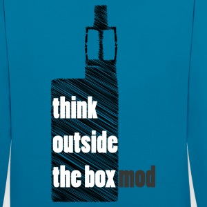Think Outside the box Sweatshirts - Kontrast-hættetrøje