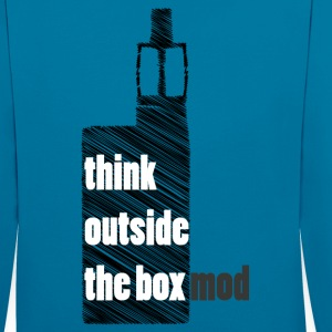 Think Outside the box Pullover & Hoodies - Kontrast-Hoodie
