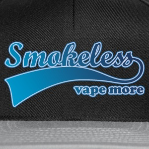 Shirt Smokeless Vape More Caps & Hats - Snapback Cap