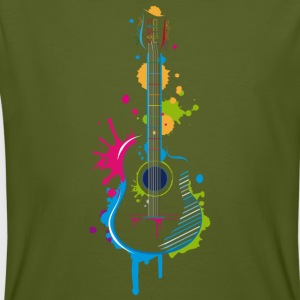 Graffiti guitar T-Shirts - Men's Organic T-shirt