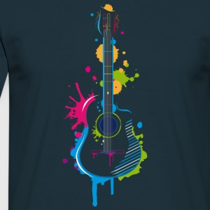 Graffiti guitar T-Shirts - Men's T-Shirt