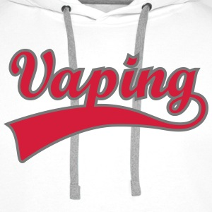 Vape Shirt Swoosh Vaping Sweat-shirts - Sweat-shirt à capuche Premium pour hommes