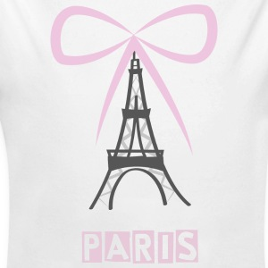 Eiffel Tower - Baby Bio-Langarm-Body