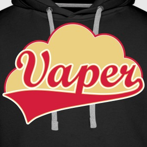 Vape shirt Vaper Cloud Sweat-shirts - Sweat-shirt à capuche Premium pour hommes