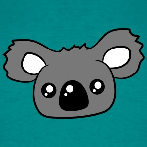 sweet little cute koala head face T-Shirts - Men's T-Shirt