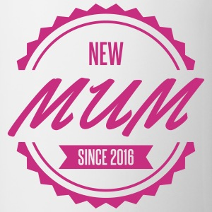 new mum since 2016 Mugs & Drinkware - Mug