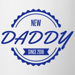 new daddy since 2016 Bouteilles et Tasses - Tasse