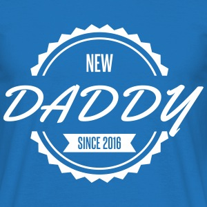 new daddy since 2016 T-Shirts - Men's T-Shirt