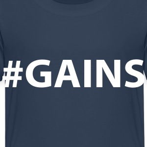 GAINS Shirts - Kids' Premium T-Shirt
