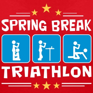 spring break triathlon T-Shirts - Women's V-Neck T-Shirt