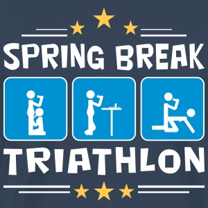 spring break triathlon T-Shirts - Männer Premium T-Shirt