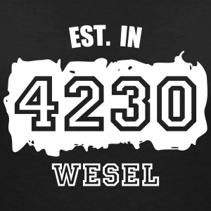 Established 4230 Wesel T-Shirts - Frauen T-Shirt mit V-Ausschnitt