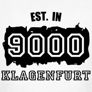 Established 9000 Klagenfurt T-Shirts - Männer Bio-T-Shirt