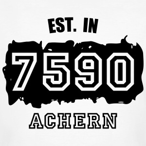 Established 7590 Achern T-Shirts - Männer Bio-T-Shirt
