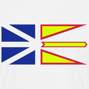 Flag of Newfoundland and Labrador, Canada. T-Shirts - Men's T-Shirt