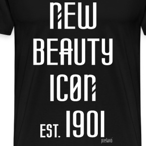 New beauty Icon est. 1901, Pixellamb ™ T-Shirts - Männer Premium T-Shirt
