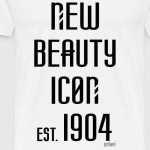 New beauty Icon est. 1904, Pixellamb ™ T-Shirts - Männer Premium T-Shirt