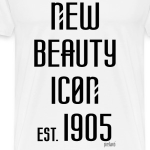New beauty Icon est. 1905, Pixellamb ™ T-Shirts - Männer Premium T-Shirt
