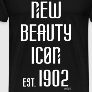 New beauty Icon est. 1902, Pixellamb ™ T-Shirts - Männer Premium T-Shirt