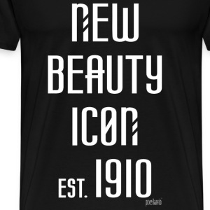 New beauty Icon est. 1910, Pixellamb ™ T-Shirts - Männer Premium T-Shirt