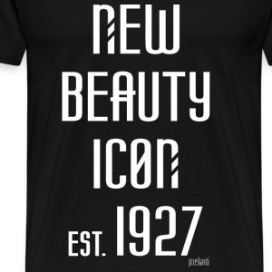 New beauty Icon est. 1927, Pixellamb ™ T-Shirts - Männer Premium T-Shirt