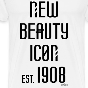 New beauty Icon est. 1908, Pixellamb ™ T-Shirts - Männer Premium T-Shirt
