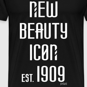 New beauty Icon est. 1909, Pixellamb ™ T-Shirts - Männer Premium T-Shirt