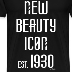New beauty Icon est. 1930, Pixellamb ™ T-Shirts - Männer Premium T-Shirt