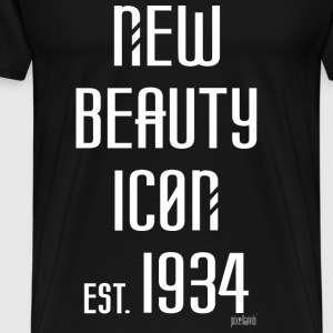 New beauty Icon est. 1934, Pixellamb ™ T-Shirts - Männer Premium T-Shirt
