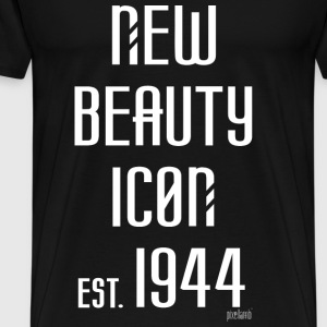 New beauty Icon est. 1944, Pixellamb ™ T-Shirts - Männer Premium T-Shirt