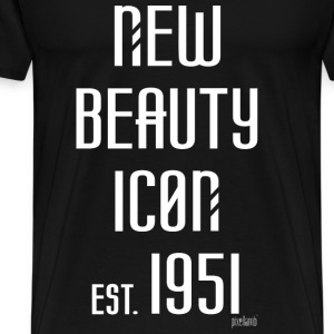 New beauty Icon est. 1951, Pixellamb ™ T-Shirts - Männer Premium T-Shirt