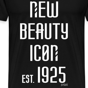 New beauty Icon est. 1925, Pixellamb ™ T-Shirts - Männer Premium T-Shirt