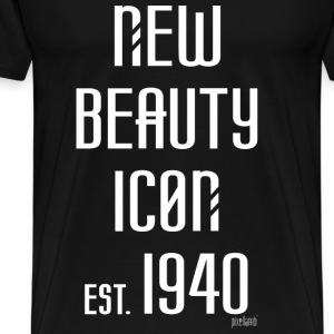 New beauty Icon est. 1940, Pixellamb ™ T-Shirts - Männer Premium T-Shirt