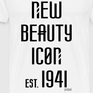 New beauty Icon est. 1941, Pixellamb ™ T-Shirts - Männer Premium T-Shirt