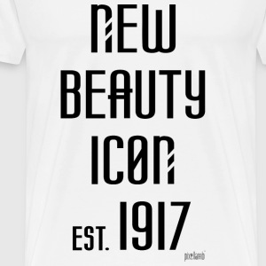 New beauty Icon est. 1917, Pixellamb ™ T-Shirts - Männer Premium T-Shirt