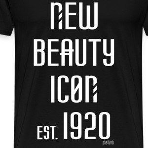 New beauty Icon est. 1920, Pixellamb ™ T-Shirts - Männer Premium T-Shirt