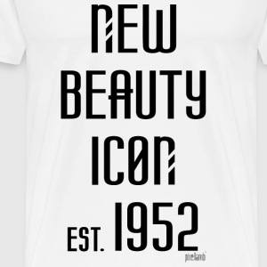 New beauty Icon est. 1952, Pixellamb ™ T-Shirts - Männer Premium T-Shirt