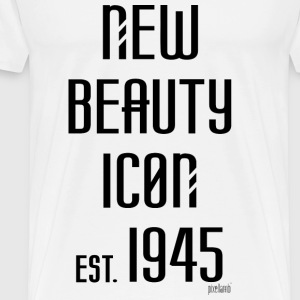 New beauty Icon est. 1945, Pixellamb ™ T-Shirts - Männer Premium T-Shirt