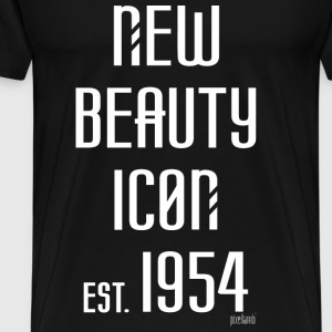 New beauty Icon est. 1954, Pixellamb ™ T-Shirts - Männer Premium T-Shirt