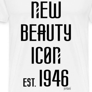 New beauty Icon est. 1946, Pixellamb ™ T-Shirts - Männer Premium T-Shirt