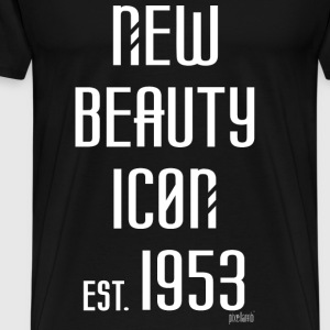 New beauty Icon est. 1953, Pixellamb ™ T-Shirts - Männer Premium T-Shirt